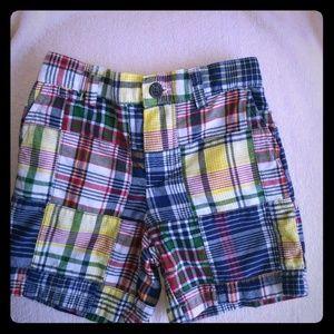 Ralph Lauren Polo Madras Patchwork Shorts